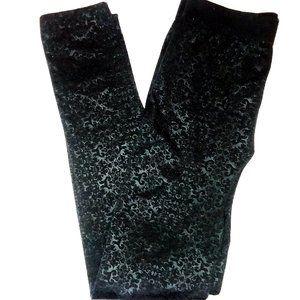 Steve Madden Patterned Leggings Black S/M